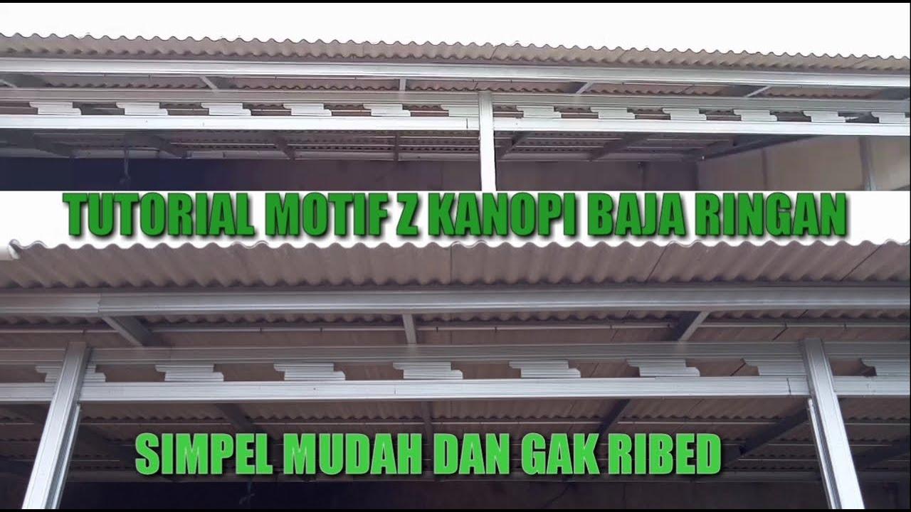 Download CARA BIKIN MOTIF KANOPI Z BAJA RINGAN