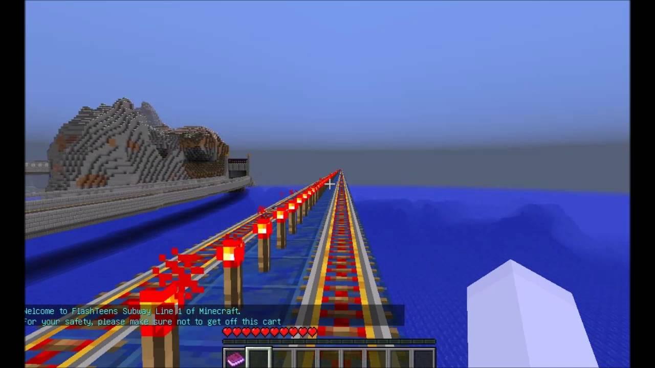 Audiosorce Subway Map.Minecraft Subway Line 1 Tour Eastbound Republic Of Flashteens Map