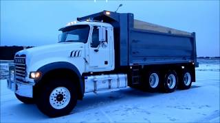 2014 Mack Granite Tri-Axle Dump Truck For Sale By CarCo Truck