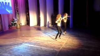 24.02.2013 Любительский танцевальный дуэт «Viki dance» (go-go)