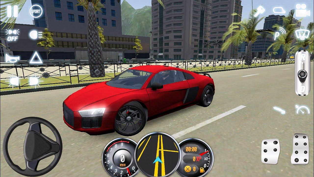 Driving School Audi TT R YouTube - Audi car 3d games