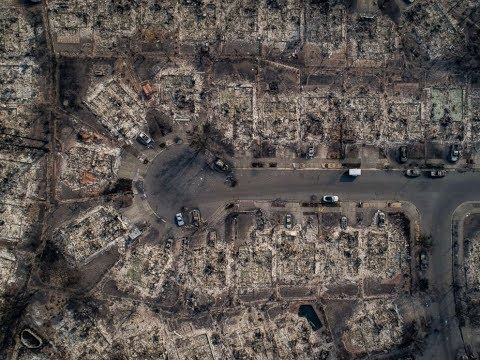 At least 26 dead in California wildfires, hundreds missing