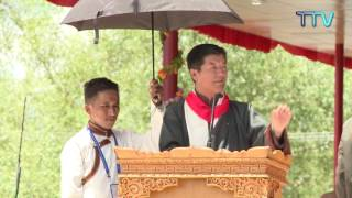 President Dr. Lobsang Sangay Address during His Holiness's 82nd Birthday Celebration at Ladakh