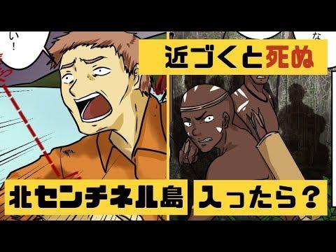 【漫画】「北センチネル島」世界一危険な島に近づくとどうなるのか?【マンガ動画】【アニメ】