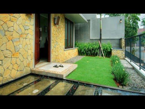 22 Desain Teras Rumah Minimalis Batu Alam Yang Tampak Natural dan
