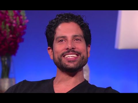 Adam Rodriguez: What's a love  like with Taraji?  STEVE HARVEY