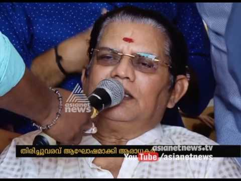 Jagathy Sreekumar sings as a part of Music Therapy on World Music Day