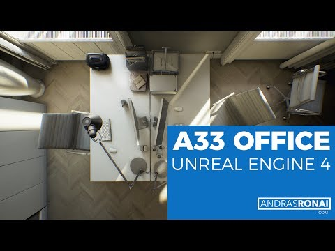 A33 Office in Budapest //  Unreal Engine 4 [Full HD]