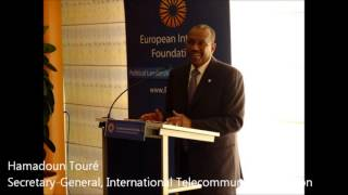Hamadoun Touré (ITU) at the EIF Preparatory Meeting for the WTPF