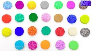 Учим английский Алфавит  Учим цвета PlayDoh  Шариковый Пластилин для детей  Песенка ABC про Алфавит