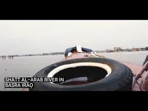 Cruising The Shatt-al Arab River In Basra Iraq. And Seeing Two Of Saddam Hussein Two  Private Yachts