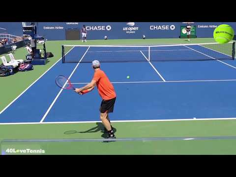 Andy Murray & Richard Gasquet US OPEN 2018 practice