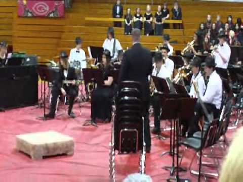 Stairway to Heaven and the Clarion-Goldfield High School Jazz Band