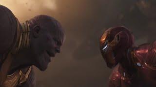Финальная битва в Войне Бесконечности. Момент из фильма Мстители 3: Война Бесконечности