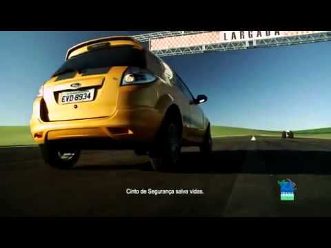 Ford Ka Sport vs Dragster (Comercial do Brasil)