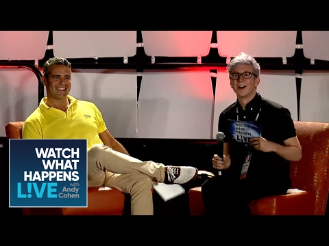 Andy Cohen and Tyler Oakley LIVE at VidCon | WWHL