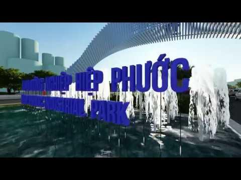 Phối cảnh 3D Cổng chào mới Khu công nghiệp Hiệp Phước