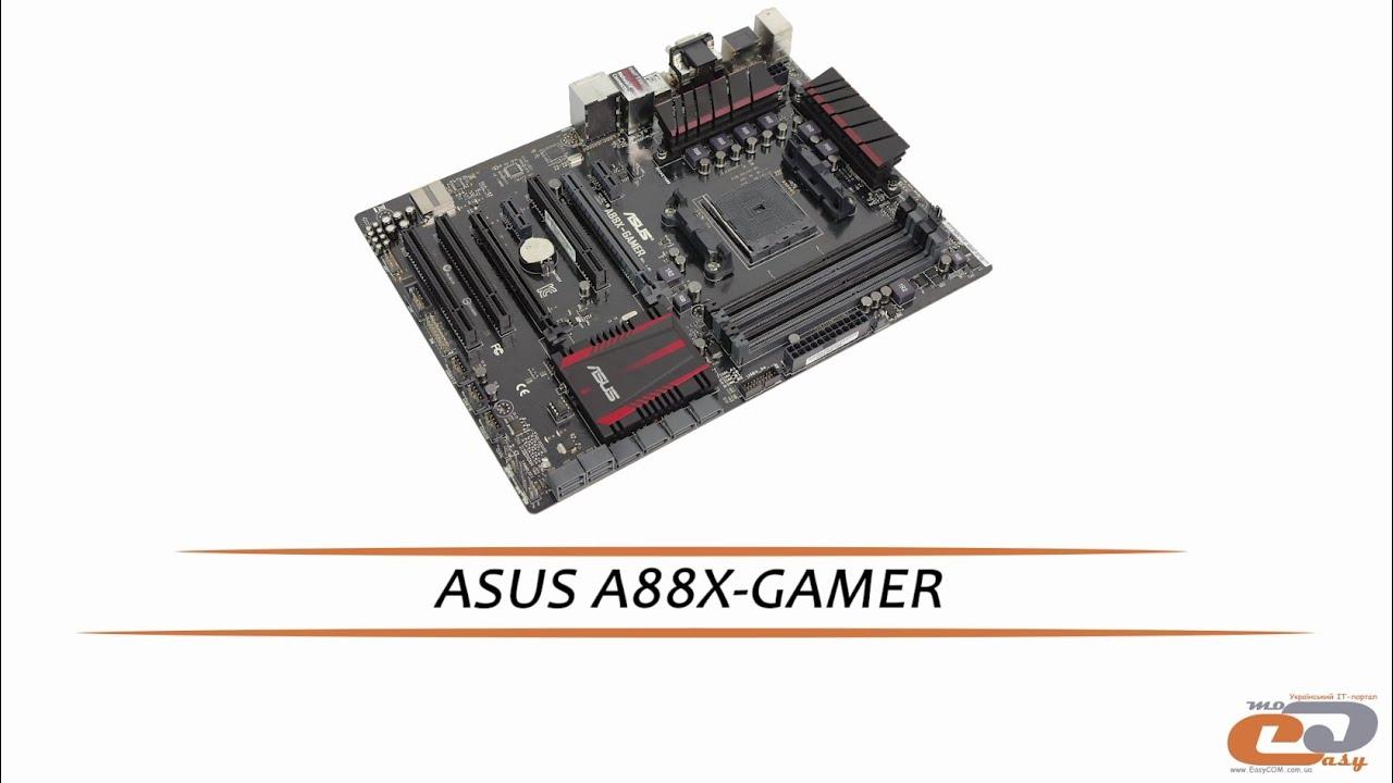 ASUS A88X-GAMER - видеообзор материнской платы