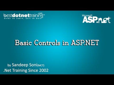 Basic Controls in ASP.NET | ASP.Net Videos Tutorial for Beginners