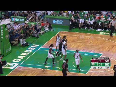 Bobby Portis Highlights - Game 1 vs Boston Celtics - 2016/17 Playoffs