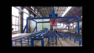 zhongji rockwool sandwich panel machine