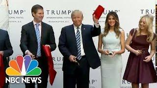 ترامب يوقف حملته الانتخابية للترويج لفندقه الجديد.. هكذا تفاخر أمام أولاده