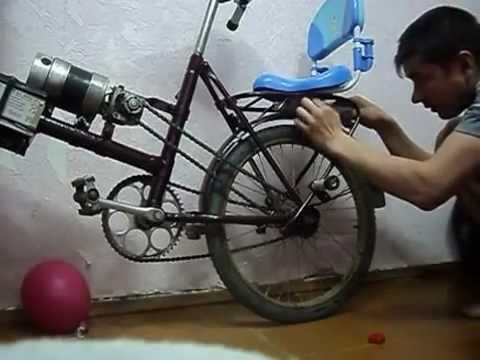 видео: Электровелосипед своими руками