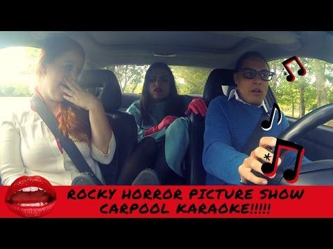 ROCKY HORROR PICTURE SHOW INSPIRED CARPOOL KARAOKE // TWIN WORLD