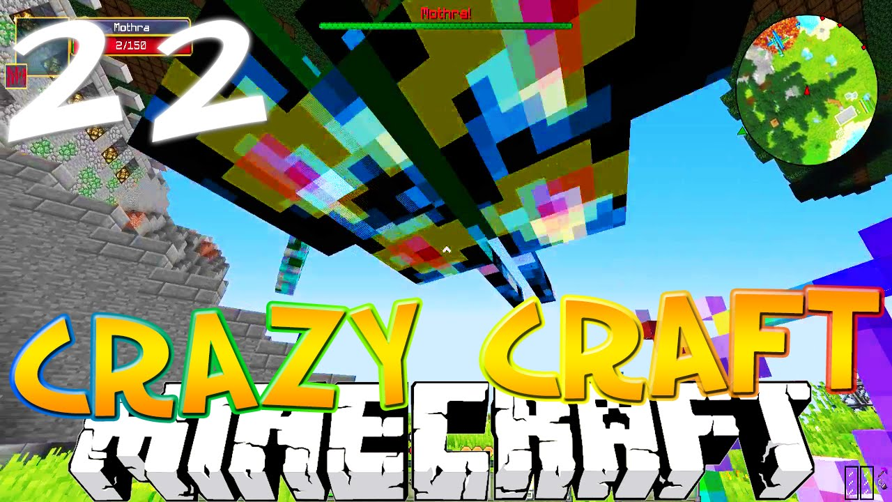 crazy craft free minecraft craft 3 0 22 quot momma mothra quot craft 1788
