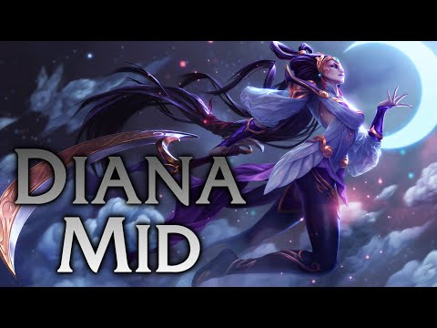 League of Legends   Lunar Goddess Diana Mid - Full Game Commentary