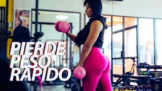 PIERDE PESO RAPIDO con Ana Mojica Fitness