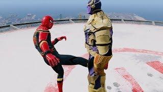 Avengers vs Thanos. Infinity War. GTA 5