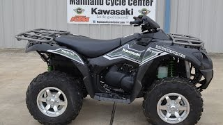 $9,999:  2015 Kawasaki Brute Force 750 EPS Black Overview and Review