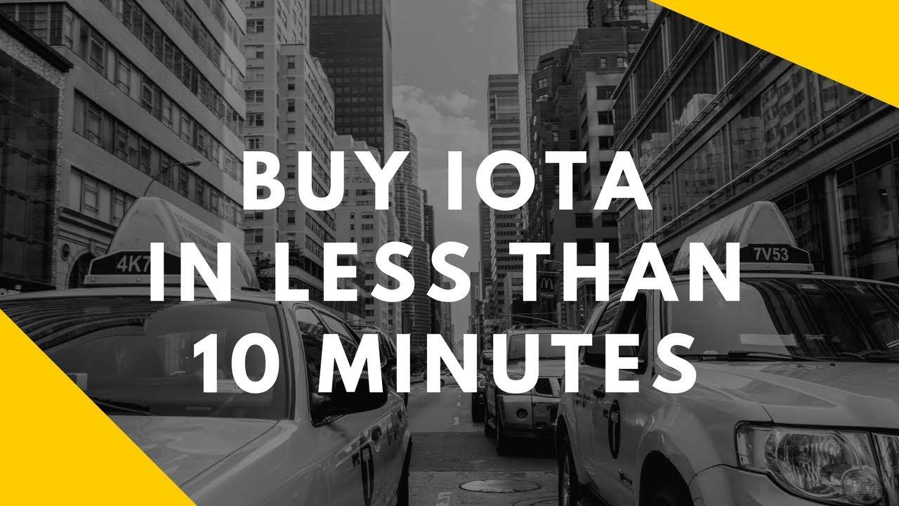 how to buy iota cryptocurrency coinbase