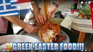 GREEK EASTER FOOD FEAST - Vlog 95