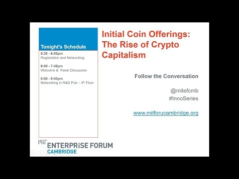 Initial Coin Offerings: The Rise of Crypto Capitalism