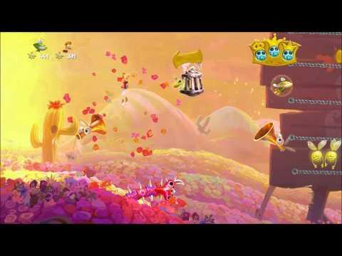 Rayman Legends - Music Level - ♫ Mariachi Madness ♪ - Perfect Run