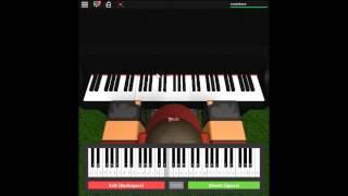 Gravity Falls Theme - Gravity Falls by: Brad Breeck on a ROBLOX piano.
