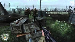 Call of Duty 2 Gameplay Walkthrough Part #26 Mission 26: The Battle for Hill 400