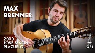 "Antônio Carlos Jobim's ""Chega de Saudade"" performed by Max Brenner on a 2000 Jose Marin Plazuelo"