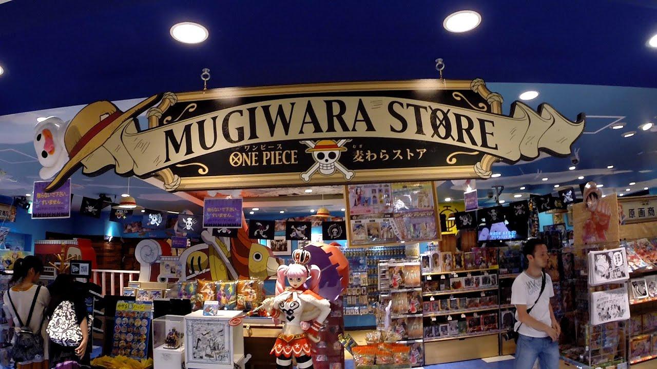 giappone japan shibuya one piece store mugiwara store youtube. Black Bedroom Furniture Sets. Home Design Ideas