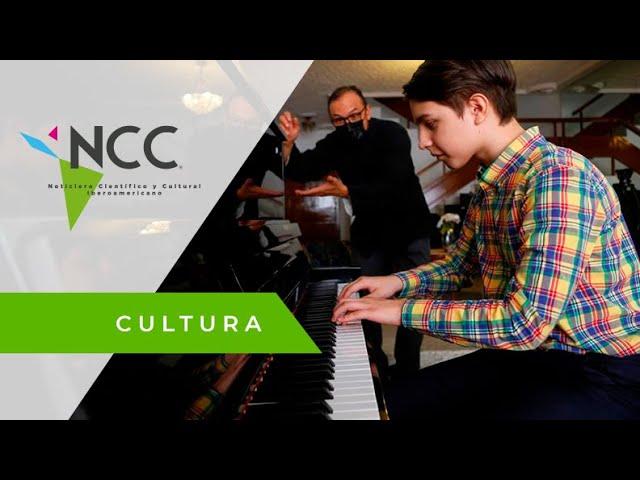 Alexander Vivero, el niño pianista que sueña con ser director de orquesta