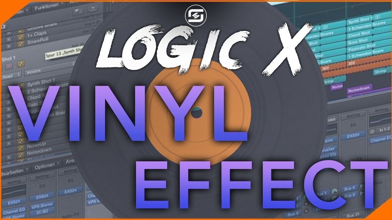 Vinyl Lo-Fi Hip Hop Effect Logic X