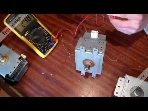 Как проверить работоспособность магнетрона