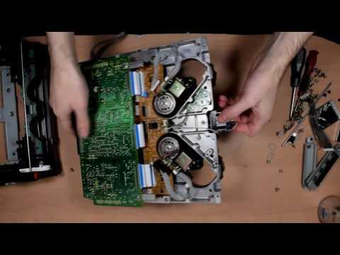 SONY UVW-1600p Betacam teardown