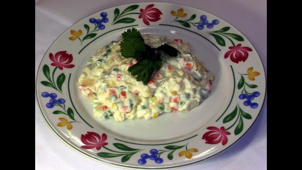 Easy to make russian salad recipe