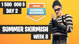 Fortnite Summer Skirmish #PAXWEST Week 8 Day 2 *ALL* Highlights