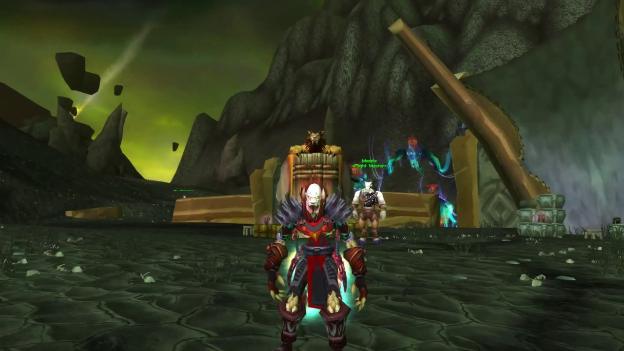 [TBC WoW] ‎Black Temple (5/9) разбойник Warmane Вармейн