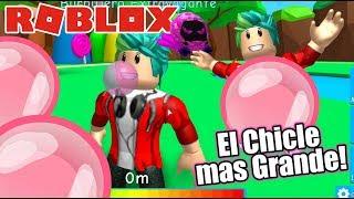 El Chicle mas Grande | Roblox Bubble Gum Simulator | Juegos Roblox Karim Juega