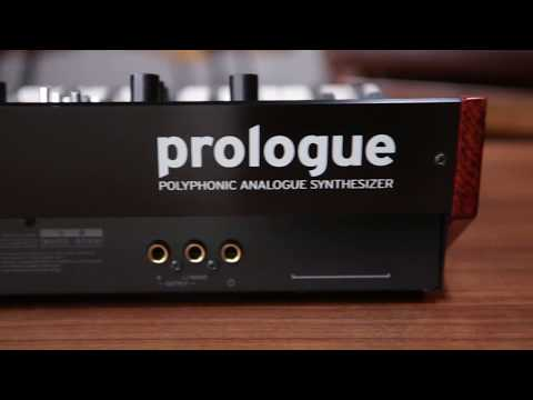 Korg Prologue Polyphonic Analogue Synthesizer - Sound Demo